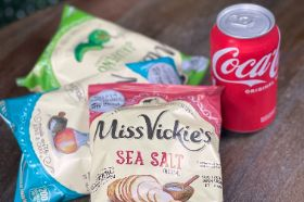 Add Any Assorted Bag of Chips and Can of Soda to your Meal. We offer Coke Products and Dr Pepper